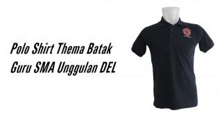 Polo Shirt Thema Batak Guru SMA Unggulan DEL