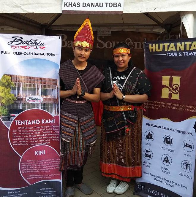 Batikta dan Hutanta dalam Bukalapak Toba Ganesha Run 2018