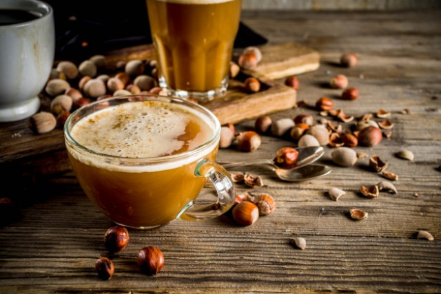 Hot Coffee Latte Hazelnut Espresso Arabica -