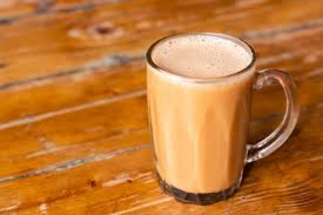 Hot Tea Teh Tarik - - -
