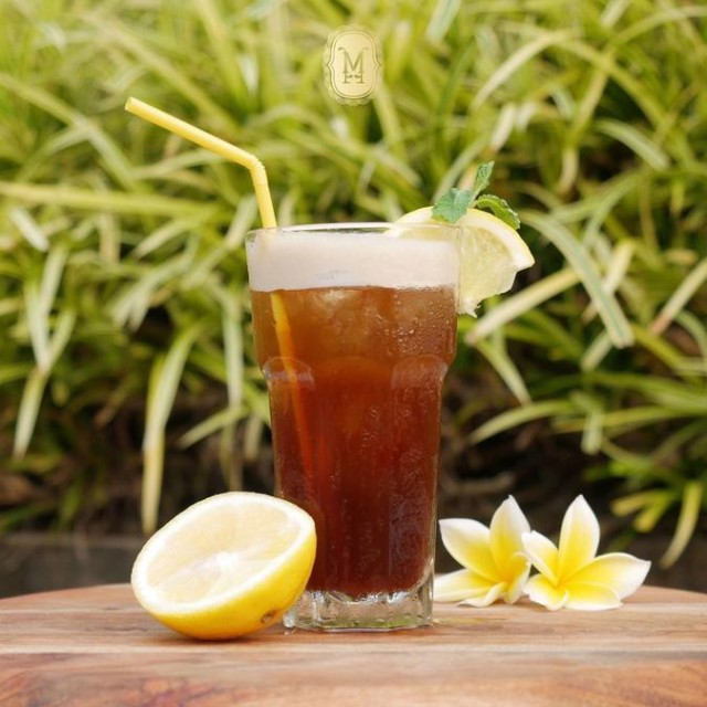 Ice Tea Lemon White Sugar - -
