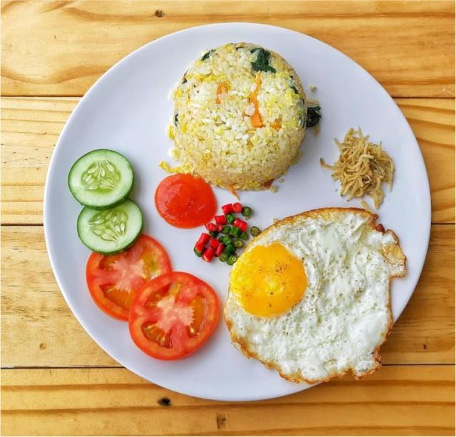 Nasi Goreng Teri Medan - - -