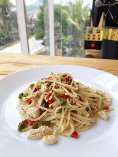 Spaghetti Sambal Matah - - -