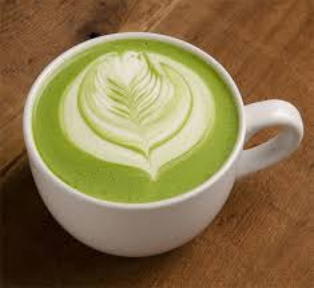 Latte Matcha Green Tea Hot -