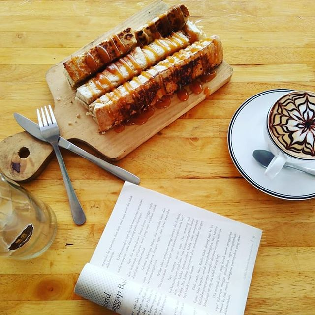 Desert Roti Timpuk Gandum Bakar KEJU COKLAT Na Gelleng