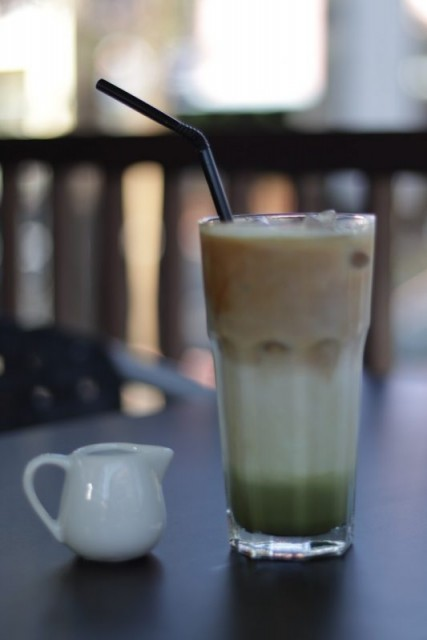 Ice Coffee Latte Pandan Espresso Arabica -