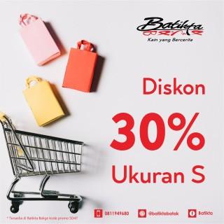 Batikta Diskon Ukuran S 30%